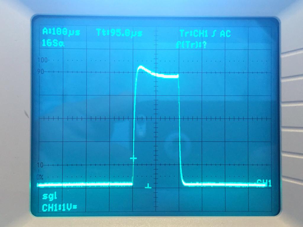 200-Mikrosekunden-Laserlicht