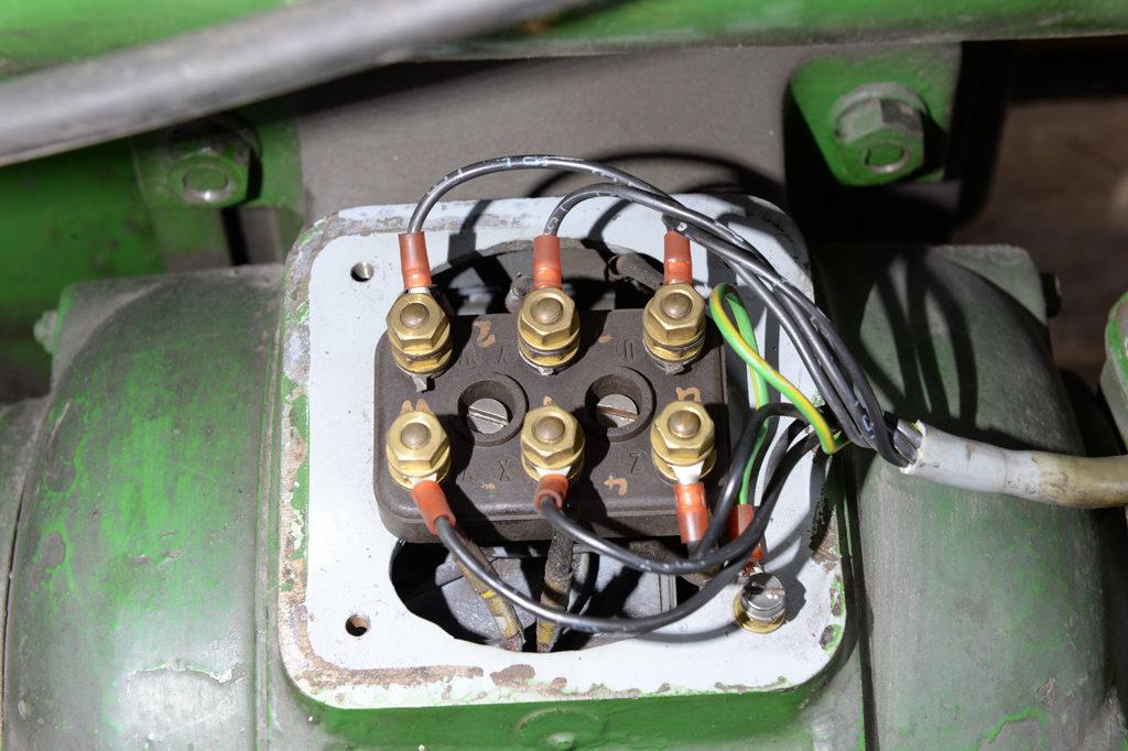 Anschlussbelegung Dahlandermotor