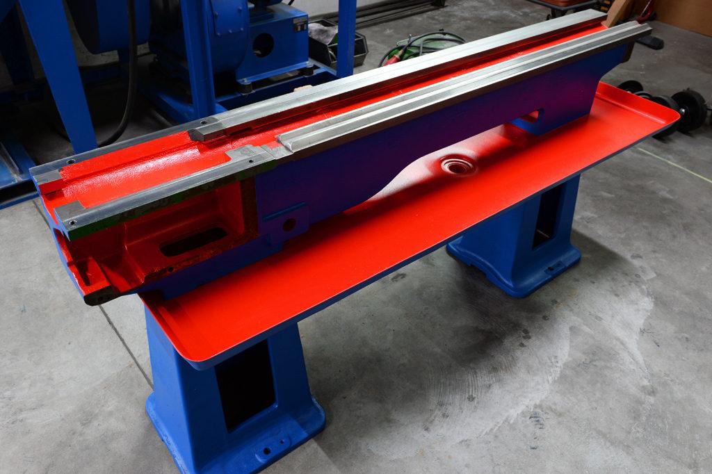 Maschinenbett-Bicolor
